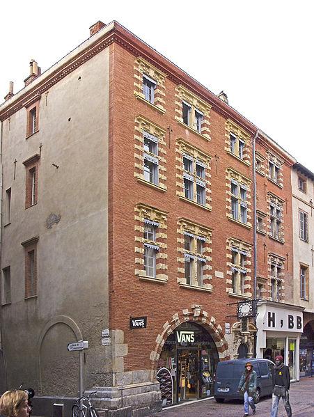Photo du Monument Historique Hôtel Pierre Comère situé à Toulouse
