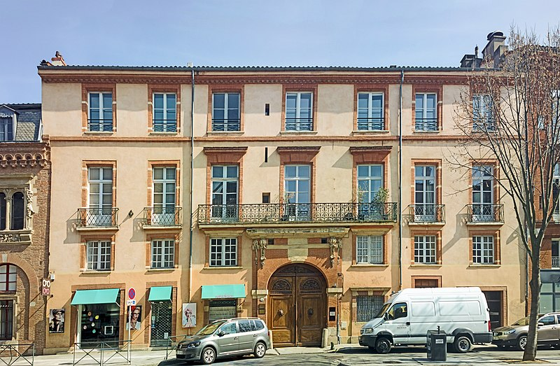Photo du Monument Historique Hôtel de Puymaurin situé à Toulouse