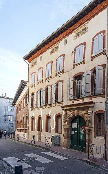 Photo du Monument Historique Hôtel Réquy situé à Toulouse