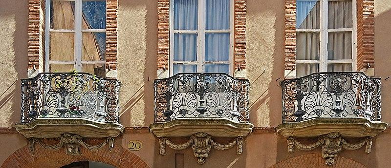Photo du Monument Historique Hôtel Reynier situé à Toulouse