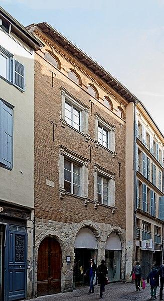 Photo du Monument Historique Hôtel de Saint-Germain situé à Toulouse