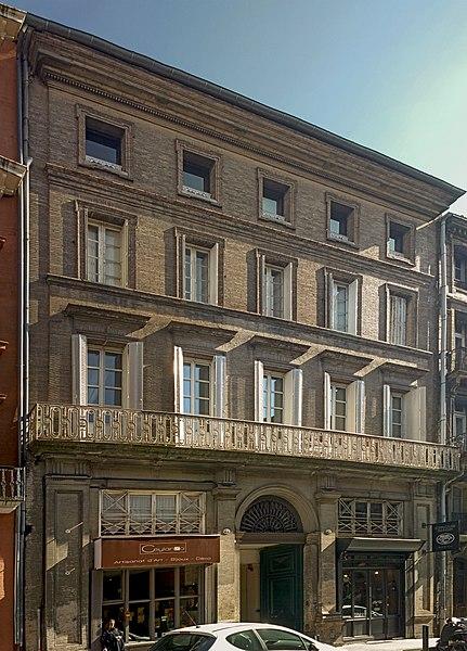 Photo du Monument Historique Hôtel situé à Toulouse