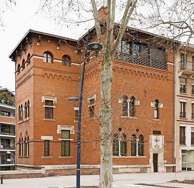 Photo du Monument Historique Immeuble dit de Seube situé à Toulouse
