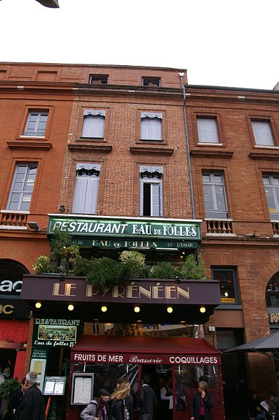 Photo du Monument Historique Immeuble situé à Toulouse