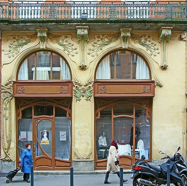 Photo du Monument Historique Librairie Modern Style situé à Toulouse