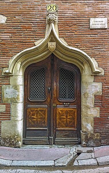 Photo du Monument Historique Maison dite de Pierre Delfau situé à Toulouse