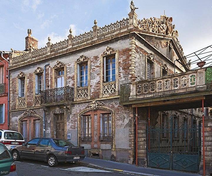 Photo du Monument Historique Fabrique Giscard et maisons situé à Toulouse