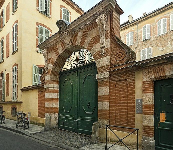 Photo du Monument Historique Maison situé à Toulouse