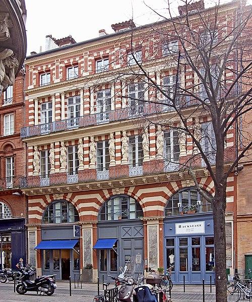 Photo du Monument Historique Maison en terre cuite de Virebent situé à Toulouse