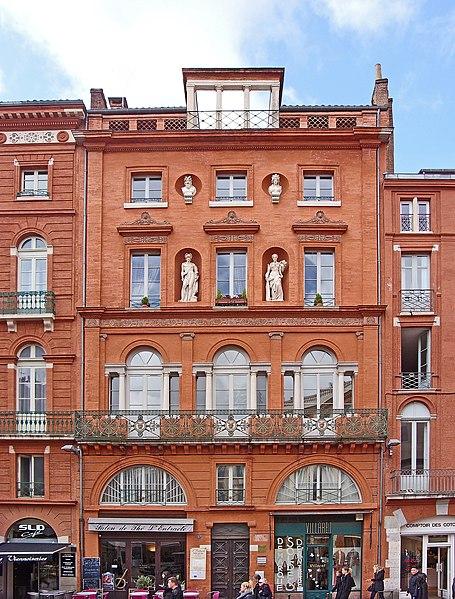Photo du Monument Historique Maison Empire situé à Toulouse