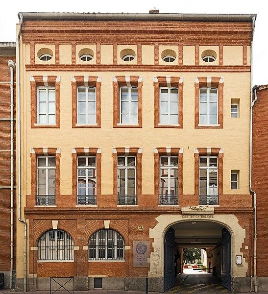 Photo du Monument Historique Fonderie de canons, actuellement Institut catholique situé à Toulouse