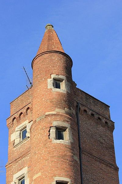 Photo du Monument Historique Tour de Serta situé à Toulouse