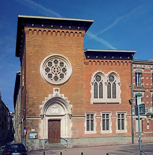 Photo du Monument Historique Ancienne trésorerie royale, actuellement temple protestant du Salin situé à Toulouse