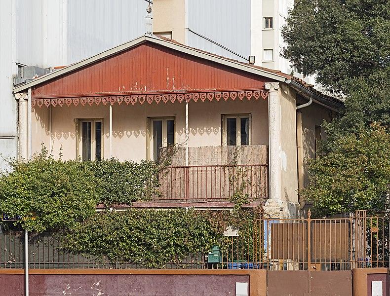 Photo du Monument Historique Villa Gabès situé à Toulouse