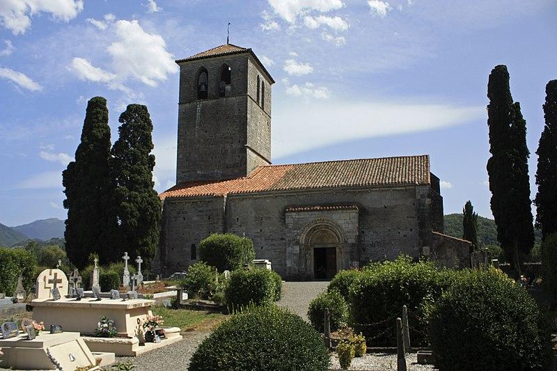 Photo du Monument Historique Cimetière situé à Valcabrère
