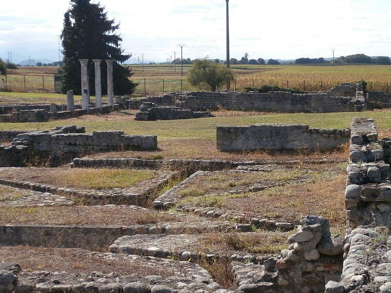 Photo du Monument Historique Grande villa gallo-romaine, dépôt de fouilles et vestiges archéologiques situé à Valentine