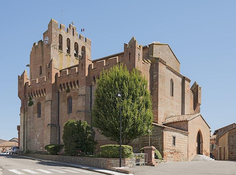 Photo du Monument Historique Eglise Saint-Pierre et Saint-Phébade situé à Venerque