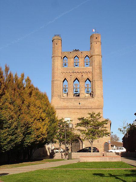 Photo du Monument Historique Eglise situé à Villefranche-de-Lauragais