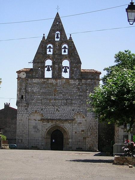 Photo du Monument Historique Eglise Notre-Dame de la Nativité situé à Alan