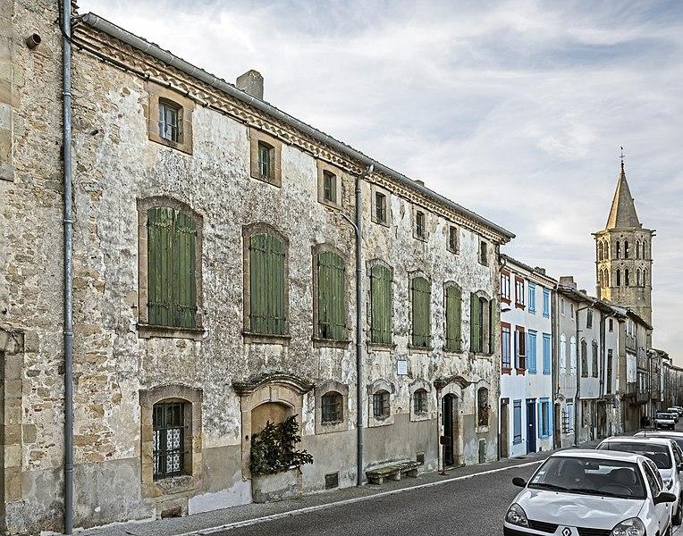 Photo du Monument Historique Maison natale de Déodat de Séverac situé à Saint-Félix-Lauragais