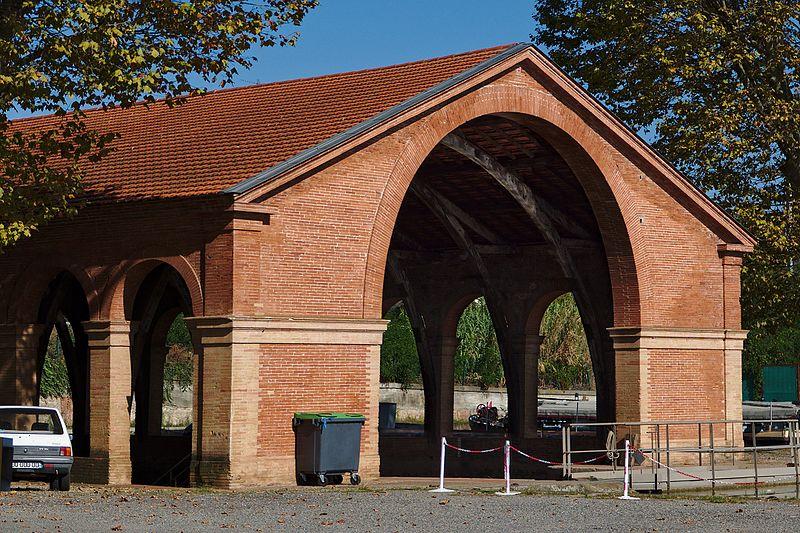 Photo du Monument Historique Bassin de radoub situé à Toulouse