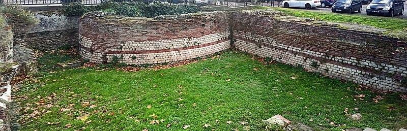 Photo du Monument Historique Rempart gallo-romain situé à Toulouse