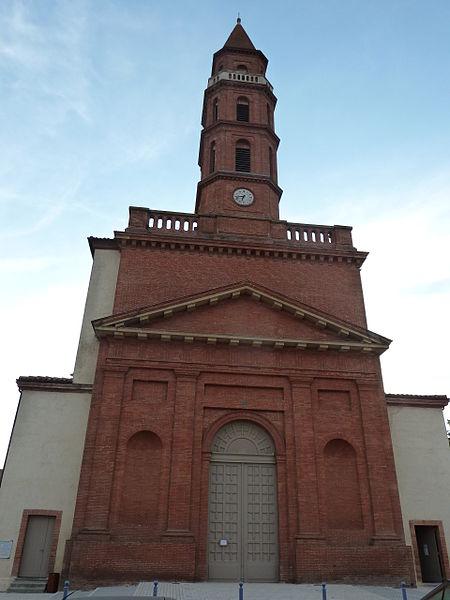 Photo du Monument Historique Eglise Saint-Gervais et Saint-Protais situé à Castanet-Tolosan