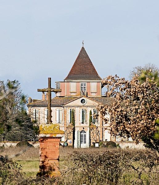 Photo du Monument Historique Château et parc situé à Larra
