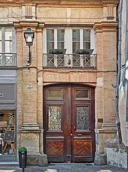 Photo du Monument Historique Ancien hôtel Sipière situé à Toulouse