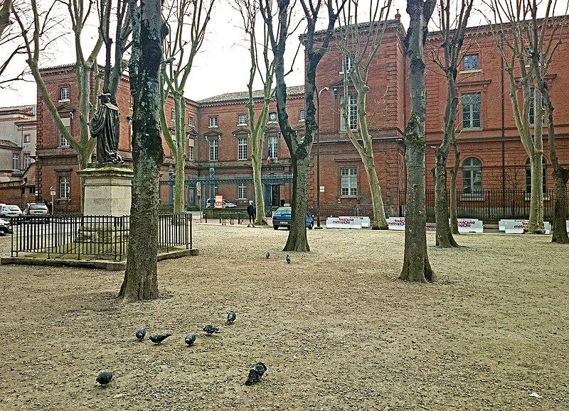 Photo du Monument Historique Palais de Justice situé à Toulouse