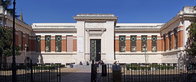 Photo du Monument Historique Bibliothèque municipale situé à Toulouse
