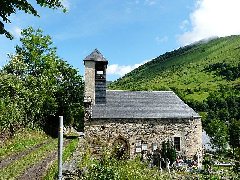 Photo du Monument Historique Eglise Saint-Geniès de Benque-Dessous situé à Benque-Dessous-et-Dessus