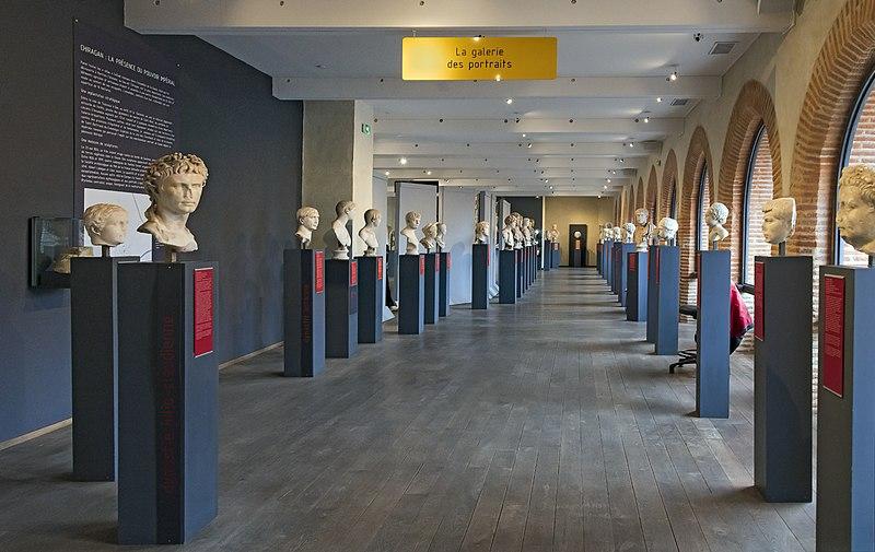 Photo du Monument Historique Site archéologique de la villa gallo-romaine de Chiragan situé à Martres-Tolosane