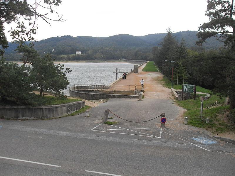 Photo du Monument Historique Canal du Midi : barrage de Saint-Ferréol (également sur commune de Vaudreuille) situé à Revel