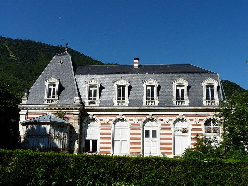 Photo du Monument Historique Casino situé à Bagnères-de-Luchon