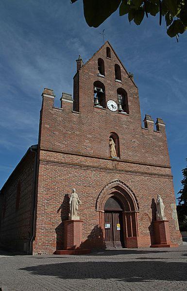 Photo du Monument Historique Eglise Saint-Etienne situé à Mauzac