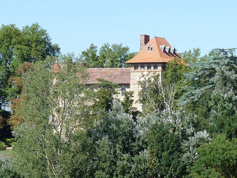 Photo du Monument Historique Château de Cambiac situé à Cambiac
