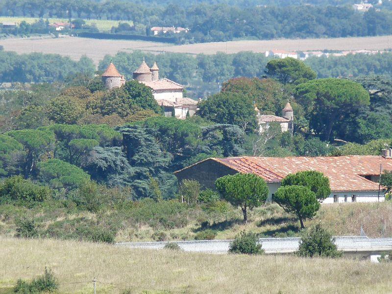 Photo du Monument Historique Château de Vieillevigne situé à Vieillevigne