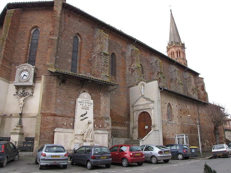 Photo du Monument Historique Eglise Saint-Pierre-ès-Liens situé à Le Fousseret