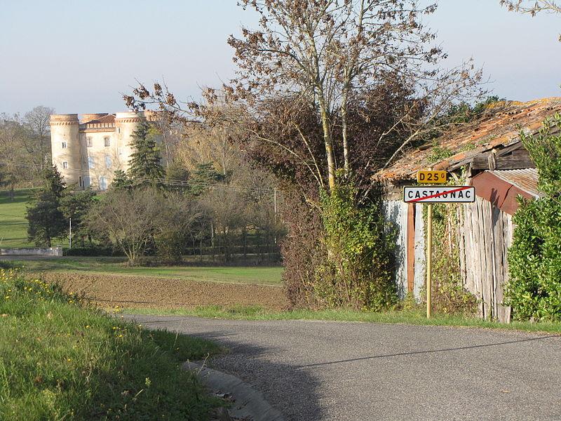 Photo du Monument Historique Château situé à Castagnac