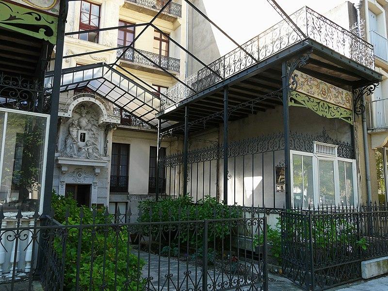 Photo du Monument Historique Villa Pyrène situé à Bagnères-de-Luchon