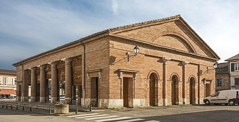 Photo du Monument Historique Halle situé à Cadours