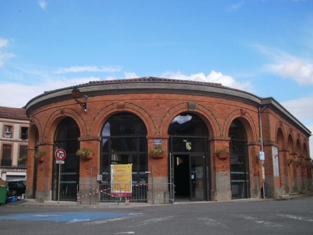 Photo du Monument Historique Halle situé à Rieumes