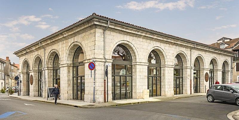 Photo du Monument Historique Halle situé à Saint-Gaudens