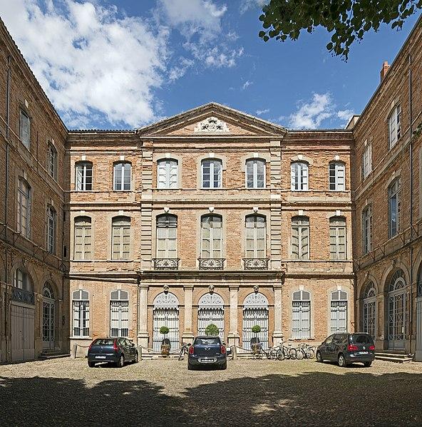 Photo du Monument Historique Hôtel de Castagnier d'Auriac situé à Toulouse