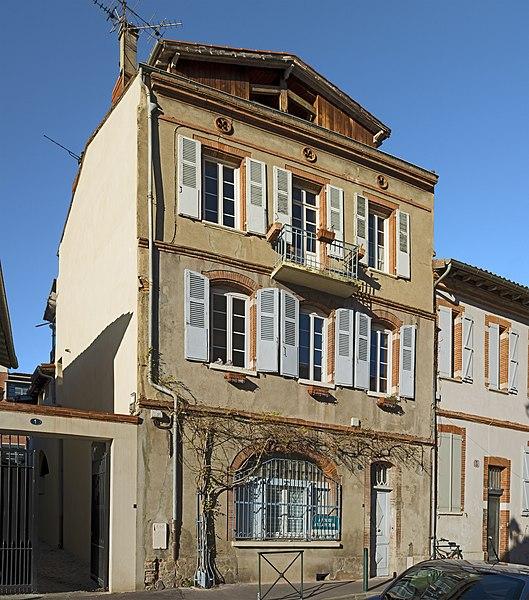 Photo du Monument Historique Immeuble dit anciens greniers du Chapitre Saint-Sernin ou ancien dortoir situé à Toulouse