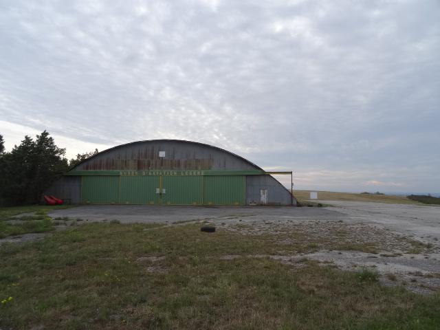 Photo du Monument Historique Ancien centre national de vol à voile de la Montagne Noire situé à Vaudreuille
