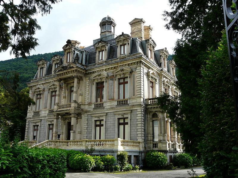 Photo du Monument Historique Villa Luisa situé à Bagnères-de-Luchon