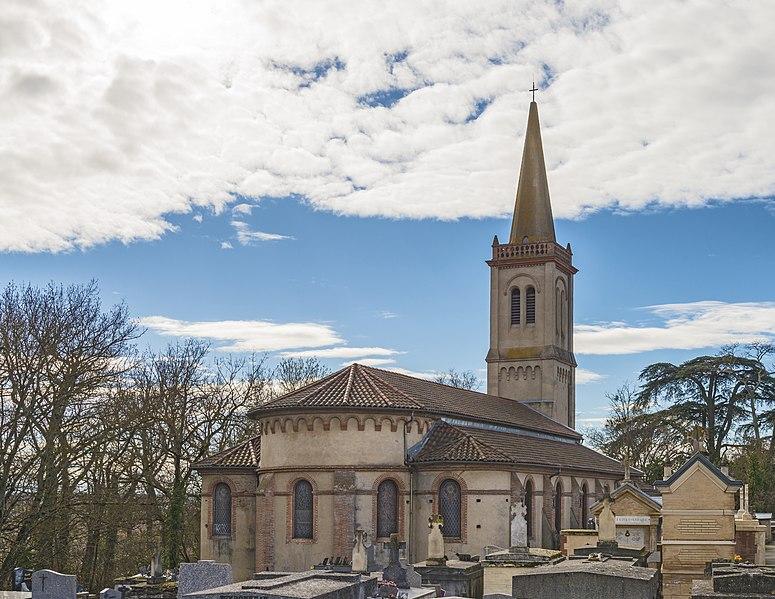Photo du Monument Historique Eglise paroissiale Saint-Barthélemy situé à Launaguet
