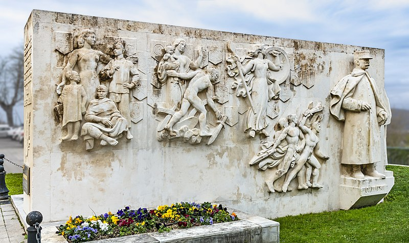 Photo du Monument Historique Monument commémoratif aux trois maréchaux pyrénéens Foch, Joffre et Gallieni situé à Saint-Gaudens